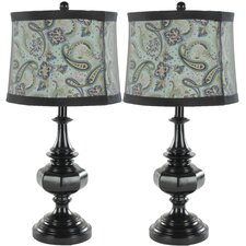 Paisley Table Lamp (Set of 2)