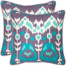 <strong>Safavieh</strong> Manhattan Polyester Decorative Pillow (Set of 2)