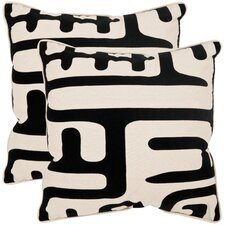 Maize Linen / Cotton Decorative Pillow (Set of 2)
