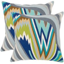 Bolt Cotton Decorative Pillow (Set of 2)
