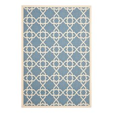<strong>Safavieh</strong> Courtyard Blue/Beige Rug