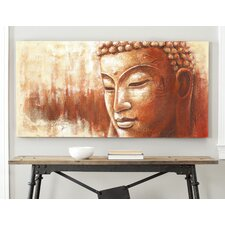 Zen Buddha Painting Print on Canvas