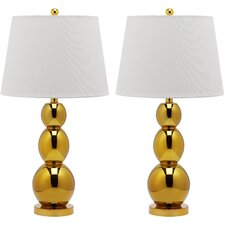 Jayne 1 Light Three Sphere Table Lamp (Set of 2)