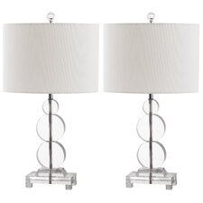 <strong>Safavieh</strong> Moira 1 Light Table Lamp (Set of 2)