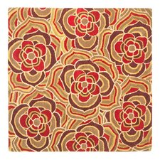 <strong>Safavieh</strong> Blossom Beige/Red Multi Rug
