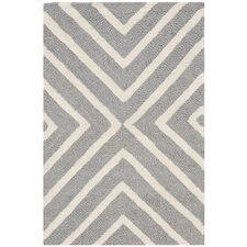 Christa Silver & Ivory Area Rug