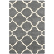 Chatham Dark Grey & Ivory Area Rug