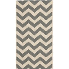 Courtyard Grey/Beige Indoor/Outdoor Rug