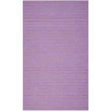 Dhurries Lavender Area Rug