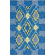 <strong>Safavieh</strong> Four Seasons Indigo / Yellow Rug