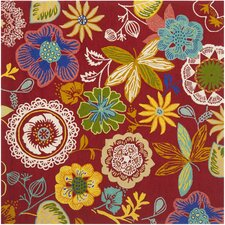 Four Seasons Red / Multi Outdoor Rug
