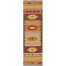 <strong>Safavieh</strong> Navajo Kilim Brown / Multi Rug