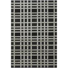 York Charcoal/Black Area Rug