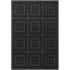 <strong>Safavieh</strong> York Charcoal / Black Rug