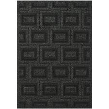 York Charcoal / Black Rug