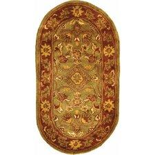 Golden Jaipur Patina Green/Rust Rug
