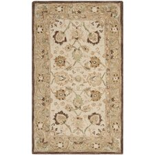 <strong>Safavieh</strong> Anatolia Ivory/Brown Rug