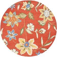 Blossom Orange/Multi Floral Rug