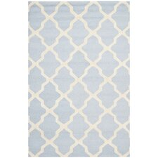 Cambridge Light Blue / Ivory Area Rug I