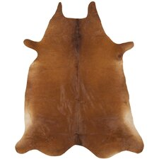 Cow Hide Brown Rug