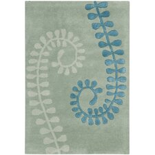 Capri Silver/Light Blue Rug