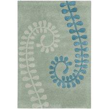 Capri Silver / Light Blue Area Rug