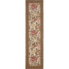 <strong>Safavieh</strong> Chelsea Ivory/Brown Rug