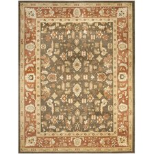 <strong>Safavieh</strong> Heirloom Brown/Rust Rug
