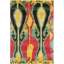 <strong>Safavieh</strong> Ikat Blue/Green Rug
