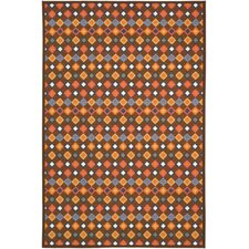 Metropolis Brown/Multi Rug