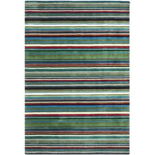Rodeo Drive Green/Multi Rug