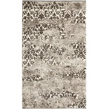 <strong>Safavieh</strong> Retro Beige/Light Grey Rug