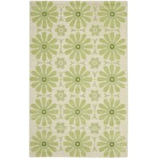 Kids Beige/Green Rug