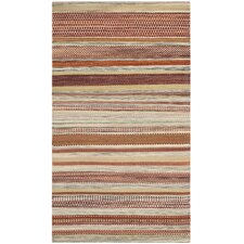 Striped Kilim Beige Rug