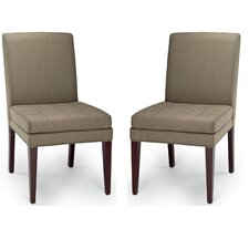 <strong>Safavieh</strong> Cole Stone Side Chair (Set of 2)