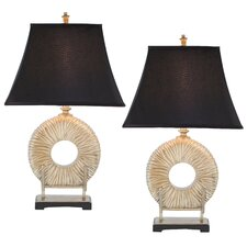 """Kira 29.5"""" H Table Lamp with Bell Shade"""