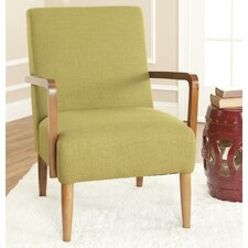 <strong>Safavieh</strong> Jane Linen Arm Chair