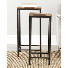 <strong>Safavieh</strong> Ivan 2 piece Nesting Tables