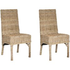 <strong>Safavieh</strong> Beacon Parsons Chair (Set of 2)