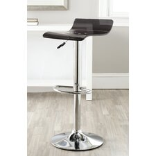 "Yance 24.8"" Adjustable Swivel Bar Stool"