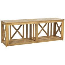 Branco Wood Garden Bench