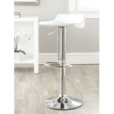 Avish Adjustable Height Swivel Bar Stool