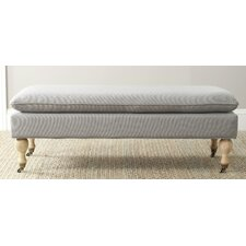 <strong>Safavieh</strong> Hampton Upholstered Bedroom Bench