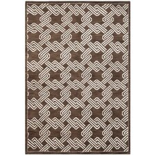 Mosaic Brown / Creme Geometric Rug