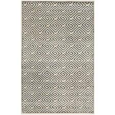 Mosaic Ivory / Grey Geometric Rug