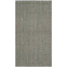 Natural Fiber Grey Jute Rug