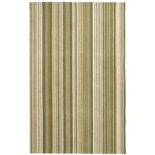 Newport Brown Striped Rug