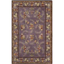 Assorted Purple / Yellow Rug