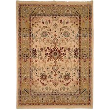 <strong>Safavieh</strong> Stately Home Ivory / Gold Rug