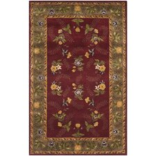 Assorted Burgundy Rug